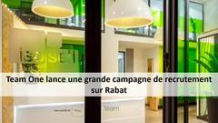 Campagne de recrutement sur Rabat: Team One recrute plusieurs profils (dreamjobma) Tags: 102018 a la une call center commerciaux rabat team one emploi et recrutement