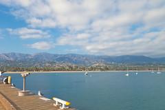 Santa Barbara (kalikko) Tags: california cali disneyland disney californiaadventure santabarbara anaheim stearns wharf water pacific ocean mountains westcoast