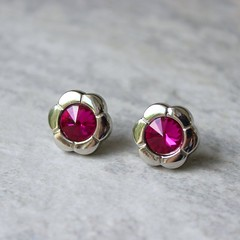 Hot Pink Earrings, Bridesmaid Earrings, Hot Pink Jewelry, Hot Pink Bridesmaid Earrings Gift, Flower Earrings, Fuchsia https://t.co/hOW2FGoGd7 #jewelry #gifts #bridesmaid #earrings #weddings https://t.co/VMEYdRPVEd (petalperceptions.etsy.com) Tags: etsy gift shop fashion jewelry cute