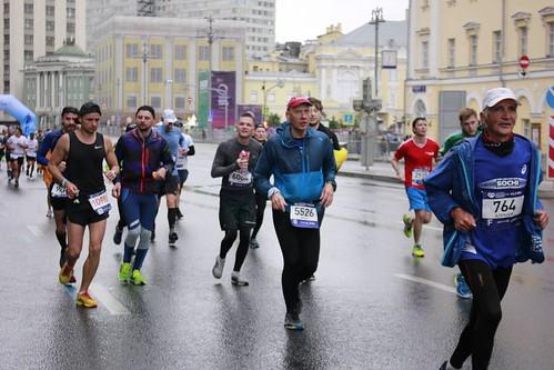 Алексей Федосеев на мрсковском марафоне