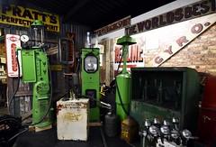 Pratt's (nickym6274) Tags: doningtoncollectionmuseum castledonington doningtonpark f1museum derby prattsgarage garage fuel