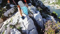 Reconnaissance falaise de la voile novembre 2018_00019 (akunamatata) Tags: calanques reconnaissance national park novembre 2018 provence france trailrunning shoes inov8 chaussures trail talon 250