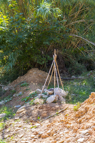 Paleontological excavation site at Pikermi (Attica, Greece)