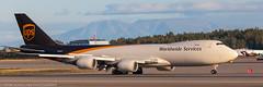 UPS 747 at ANC (Alaskan Dude) Tags: travel alaska anchorage anchorageinternationalairport airplane airplanes airliners aviation planes planespotting planewatching