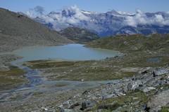 lac du Grand Désert (bulbocode909) Tags: valais suisse nendaz lacdugranddésert montagnes nature nuages paysages vert bleu eau lacs rochers groupenuagesetciel