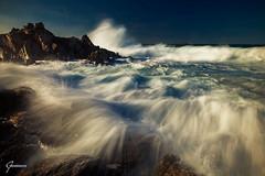 The great northeastern (whitenoisephotography1) Tags: northeast wind waves seascape sardinia sardegna golfo aranci grecale long expo