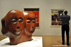 Black Unity (Side 1) (Trish Mayo) Tags: art sculpture painting brooklynmuseum museum elizabethcatlett mahogany soulofanation africanamericanartist africanamericanart womanartists