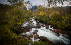 The North Face Trail Stream, Highlands, Scotland (throzen) Tags: scotland highlands uk united kingdom europe scenery scenic landscape sky cloud outside outdoors beauty beautiful water canon 70d 1018 efs stream waterfall long exposure longexposure rocks