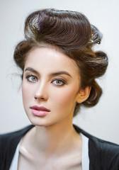 simple portrait of Aleks (Khun_K) Tags: portrait portraiture beauty beautiful beautifulgirl beautifulwoman eyes greeneyes