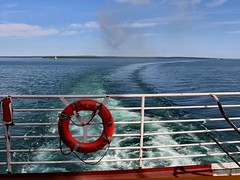 Out of the River & into Lake Huron (knutsonrick) Tags: