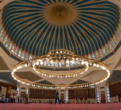 King Abdullah I Mosque (George Pachantouris) Tags: jordan hasemite petra aqaba amman middle east travel tourism holiday warm capital arab arabic