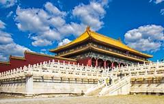 forbidden city (werner boehm *) Tags: wernerboehm hongkong macao shanghai peking beijing citascape stadt thegreatwall chinesische mauer forbiddencity kaiserpalast verbotenestadt