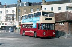Privatised East Kent. (Renown) Tags: bus doubledecker leyland an68 ecw easterncoachworks ek eastkent busstation folkestone jjg10p