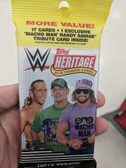 WWE Topps Heritage (earthdog) Tags: 2018 word text card tradingcard topps wwe wrestling prowrestling johncena machoman randysavage randymachomansavage hbk heartbreakkid shawnmichaels googlepixel pixel androidapp moblog cameraphone