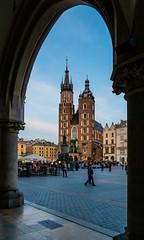 View of the Gothic Church of Our Lady ( Saint Mary's Church) (Market Square - Krakow Old Town) (Panasonic Lumix LX100-II) (1 of 1) (markdbaynham) Tags: krakow cracow poland polish polishcity metropolis urban medieval medievalcity staremiastro rynekglowny oldtown historiccity historicplace pl polen panasonic panasoniclumix panasoniccompact compact highendcompact lx lx100 lx100ii lx100m2 fixedlens fixedzoom lumix lumixer panasoniclx100 panasoniclx100m2 panasoniclx city cityscape citybreak dmclx dmclx100 gothicchurch stmaryschurch church churchofourlady royalroute