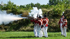 Redcoats (gravelben) Tags: canada musket gun shoot soldiers british military army historic uniform