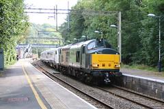 37611 pulls 345026 through Kidsgrove (uksean13) Tags: 37611 345026 kidsgrove train transport railway rail diesel pegasus railoperationsgroup canon ef28135mmf3556isusm 760d