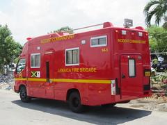 Jamaica Fire Brigade Hino Dutro