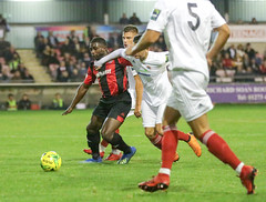 Lewes 3 Worthing 4 03 10 2018-67.jpg (jamesboyes) Tags: lewes worthing sussex football soccer fussball calcio voetbal amateur bostik isthmian goal score celebrate tackle pitch canon 70d dslr