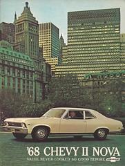 1968 Chevy II Nova sales brochure (Hugo-90) Tags: 1968 chevrolet nova brochure chevyii car auto automobile ads advertising