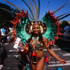 West Indian Day Parade 2018 (slightheadache) Tags: 2018 brooklyn caribbean carnival laborday mamiya mamiya6mf mamiya6 nyc velvia wiadca westindian westindiandayparade velvia100