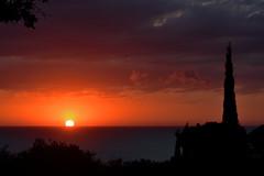 Alba sull'Adriatico (luporosso) Tags: natura nature naturaleza naturalmente nikon nikonitalia nikond500 sole sea alba sun sunrise nuvole clouds marche italia italy civitanovamarche adriatico