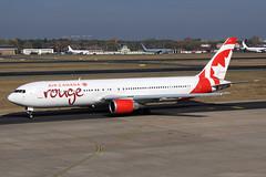 Air Canada Rouge  Boeing 767-38E(ER) C-GBZR (widebodies) Tags: berlin tegel txl eddt widebody widebodies plane aircraft flughafen airport flugzeug flugzeugbilder air canada rouge boeing 76738eer cgbzr