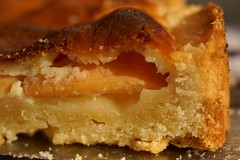 Birnenquitten-Käsekuchen  (German for Pear quince cheese cake) (Carlos Lubina) Tags: macromondays bfood birnenquitte kuchen pearquince cheesecake