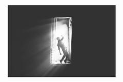 J truth (Wood Oliver) Tags: digital canon eos5dii 50mm18 stm bw black light photoshop dark manip