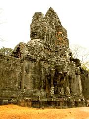 Angkor, Siem Reap Cambodia 2009 (leonyaakov) Tags: cambodia siemreap history buddhism buddhisttemple ancientcapital unesco religion asia monument worldtrekker stonecarving stoneart angkor