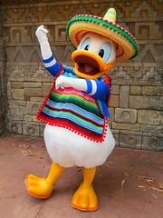 Donald Duck (meeko_) Tags: donald duck donaldduck characters disneycharacters threecaballeros mexico mexicopavilion worldshowcase epcot themepark walt disney world waltdisneyworld florida
