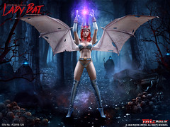 PHICEN PL2018-128 Lady Bat - 2018 SHCC Exclusive - 04 (Lord Dragon 龍王爺) Tags: 16scale 12inscale onesixthscale actionfigure doll hot toys phicen tbleague seamless femalebody