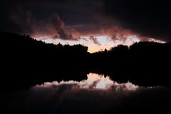 Darkness rising (Jarl-Erik Storesund) Tags: sunset darkness vater nature nature2018 norway norge