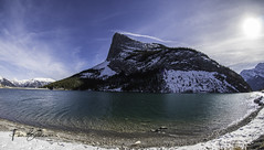 Ha Ling Peak Whitemans Pond (fherbalderas) Tags: kananaskis alberta canada mountains peaks snow winter sonya6500 fisheye 8mm