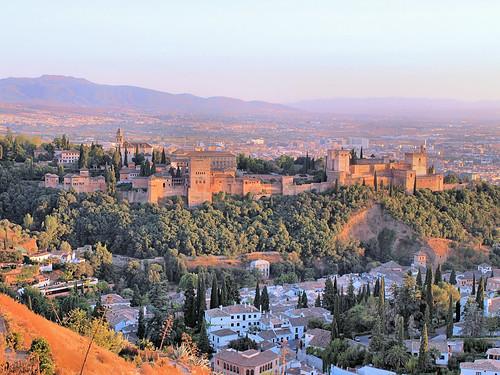Alhambra. Grenade. Andalousie. Espagne