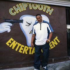 Chiptooth -- Kevo (ADMurr) Tags: dac478 la southla music producer 2018 street portrait hasselblad 50mm distagon kodak ektar 6x6 500 cm square