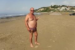 On San Stephanos Beach (pj's memories) Tags: corfu sanstephanos beach briefs kiniki tanthru seaside