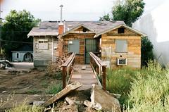 Untitled (gootyeriz) Tags: urban decay coloradosprings south nevada architecture portra160 nikon f100
