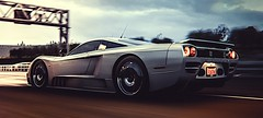 Saleen S7 (polyneutron) Tags: saleen hypercar streets race forza horizon night clouds motion effects colors