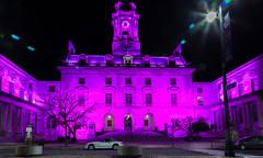 Portland City Hall (Me in ME) Tags: maine portland pinktober cityhall nightscene pink