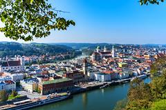 Passau (Roman Achrainer) Tags: passaubayern fluss donau inn ilz natur landschaft achrainer