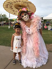 Arizona Ecomadres Day of the Dead Tabling