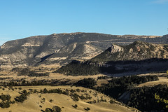 Dead Indian Hill (wyojones) Tags: wyoming shoshonenationalforest chiefjosephhighway sunlightbasin sunlightcanyon sunlightcreek deadindianhill mountain hill switchbacks road highway trees forest parkcounty deadindianpass