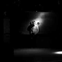 After the visit (pascalcolin1) Tags: paris homme man lumière light ombre shadows museum musée photoderue streetview urbanarte noiretblanc blackandwhite photopascalcolin canon canon50mm 50mm