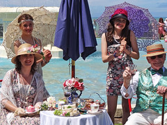 All dressed up (Home Land & Sea) Tags: nz newzealand hawkesbay napier 2017 artdecoweekend greatgatsbypicnic sonycybershot dschx100v pointshoot homelandsea