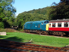 37142 Bodmin Parkway (3) (Marky7890) Tags: 37142 class37 heritage diesellocomotive bodminwenfordrailway bodmin bodminparkway cornwall train
