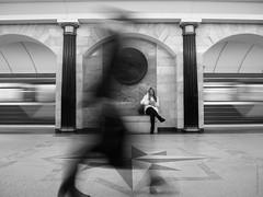 In the underground (amm78) Tags: 2017 epl3 olympusm14423556iir stpetersburg blackandwhite mirrorless olympus street subway sanktpeterburg saintpetersburg russia ru amm78
