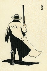 Grim Determination (Craig Walkowicz) Tags: cowboy western oldwest wildwest duster hat shotgun ccw