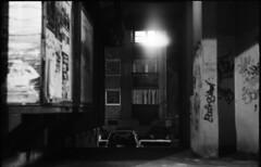 passageway (Arpadkoos) Tags: start helios debrecen car panel graffiti light bulb passageway