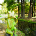 Nicolae Romanescu Park - Frog